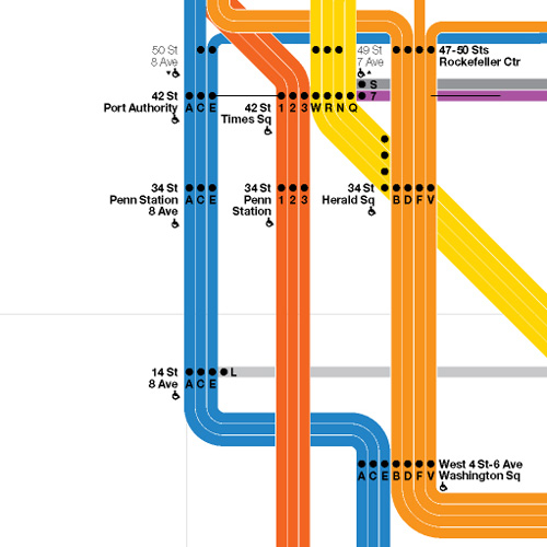 Vignelli Subway Map Pdf.Accessible Transit Massimo Vignelli Nyc Subway Map Edition Urbnblog