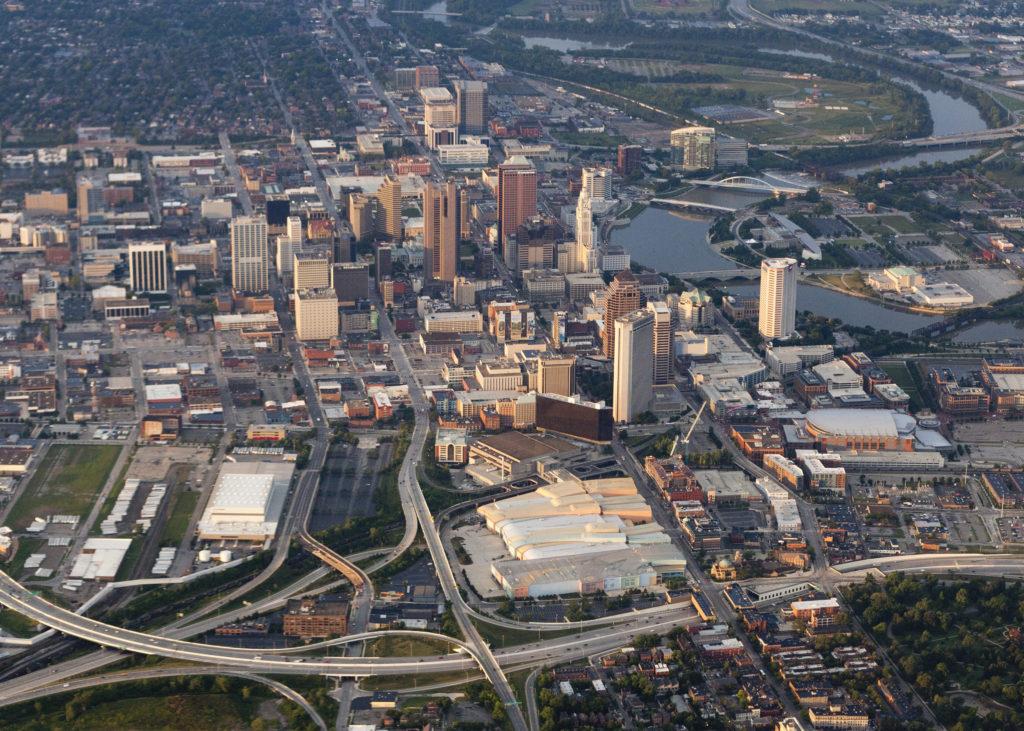 Columbus, Ohio Aerial